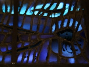 Detail of St Anthony - illuminated!